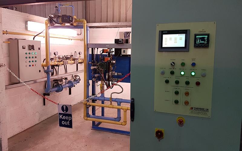 Control Panel Test Rig