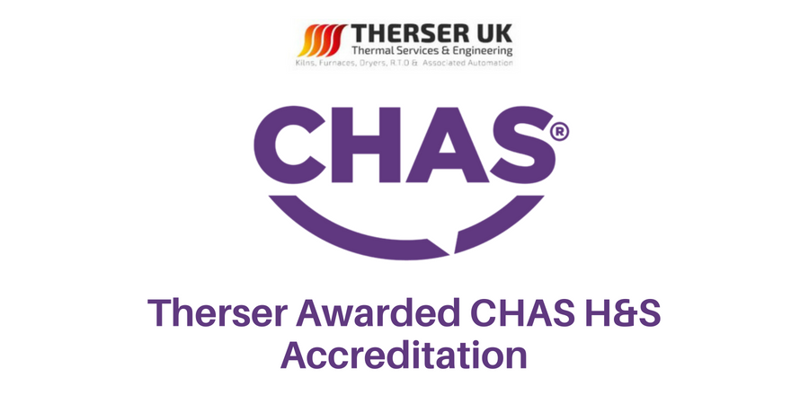 Therser Awarded CHAS H&S Accreditation